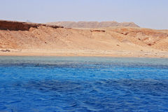 Red sea seashore on Ras Mohamed territory Royalty Free Stock Image