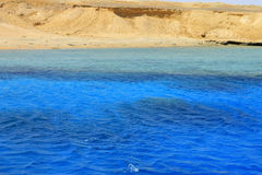Red sea seashore on Ras Mohamed territory Stock Images