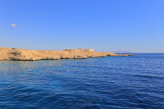 Red sea and shore Stock Photography