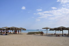 Red sea in Hurghada in Egypt Stock Photos