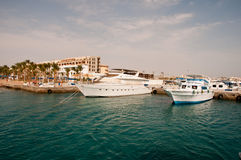 Red sea in Hurghada in Egypt Stock Image