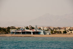 Red sea in Hurghada in Egypt Royalty Free Stock Photography