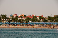 Red sea in Hurghada in Egypt Royalty Free Stock Photo