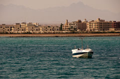 Red sea in Hurghada in Egypt Royalty Free Stock Photos