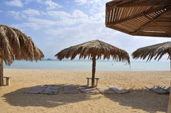 Red sea in Hurghada in Egypt Stock Images