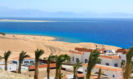 Red Sea view Royalty Free Stock Photo