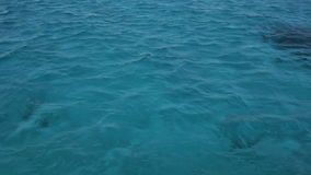 Red Sea Water Surface. stock video