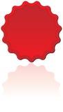 Red Seal. Or award badge Stock Photo