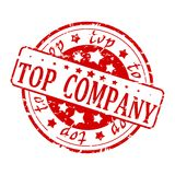 Red Seal - Top Company Royalty Free Stock Images