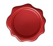 red seal wax Στοκ εικόνα με δικαίωμα ελεύθερης χρήσης