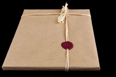 Red Sealed Gift Stock Images