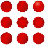 Red Seals Stock Images