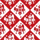 Red seamless background Royalty Free Stock Image