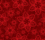 Red seamless background Royalty Free Stock Photography