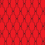 Red seamless background Royalty Free Stock Images