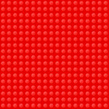 Red Seamless Background of Plastic Construction Royalty Free Stock Photography
