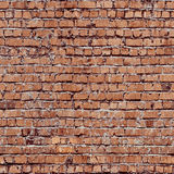 Red seamless bricks Royalty Free Stock Photos