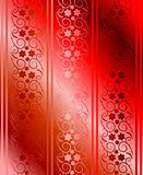 Red seamless brocade vector Royalty Free Stock Photo