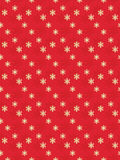 Red seamless Christmas background Stock Images