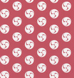 Red Seamless color pattern. Royalty Free Stock Images