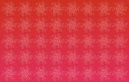 Red seamless damask background Stock Photos