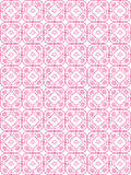 Red seamless flower pattern Stock Image