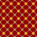 Red seamless geometrical pattern Royalty Free Stock Photo