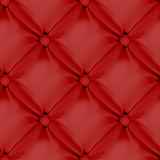 Red Seamless  Leather Upholstery Pattern Stock Images