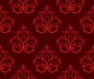 Red Seamless Pattern Royalty Free Stock Photos