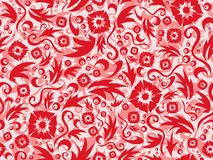 Red seamless pattern Stock Photo