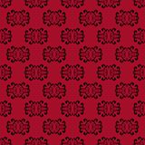 Red Seamless Pattern background. Royalty Free Stock Images