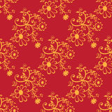Red seamless pattern Stock Images