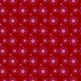 Red seamless pattern. For print on paper Stock Image