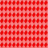 Red seamless pattern Stock Photo