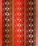 Red seamless texture vector Royalty Free Stock Image