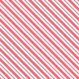 Red seamless tilted striped pattern packaging paper background. In vector format Royalty Free Stock Image
