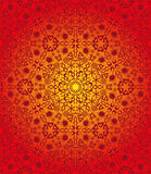 Red seamless tribal pattern Stock Images