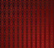 Red Seamless Wallpaper. Stock Photography