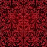 Red seamless wallpaper Stock Image