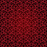 Red seamless wallpaper Royalty Free Stock Photo