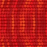 Red seamless wallpaper Royalty Free Stock Images