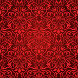 Red seamless wallpaper Stock Images