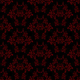 Red seamless wallpaper pattern Stock Photo