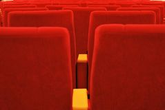 Red seat Royalty Free Stock Photos