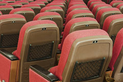 Red seat Stock Photos