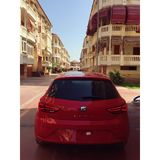 Red Seat Leon Stock Images