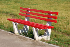 Red Seat / Park Stock Photography