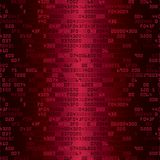 Red security background with HEX-code Stock Images