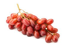 Red seedless table grapes Royalty Free Stock Photography