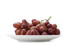 Red seedless table grapes Royalty Free Stock Image